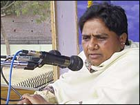 Uttar Pradesh Chief Minister Mayawati Kumari